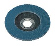 Sealey FD11580 Flap Disc Zirconium ¯115mm 22mm Bore 80Grit