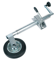 Sealey TB371 Jockey Wheel & Clamp ¯35mm - 150mm Solid Wheel