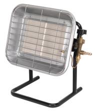 Sealey LP14 Space Warmer¨ Propane Heater with Stand 10,250-15,354Btu/hr