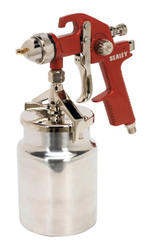 Sealey HVLP740 HVLP Suction Feed Spray Gun 1.7mm Set-Up