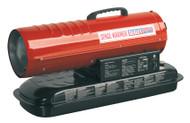 Sealey AB458 Space Warmer¨ Paraffin/Kerosene/Diesel Heater 45,000Btu/hr without Wheels