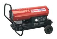 Sealey AB7081 Space Warmer¨ Paraffin/Kerosene/Diesel Heater 70,000Btu/hr with Wheels