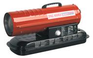 Sealey AB708 Space Warmer¨ Paraffin/Kerosene/Diesel Heater 70,000Btu/hr without Wheels