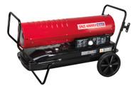 Sealey AB2158 Space Warmer¨ Paraffin/Kerosene/Diesel Heater 215,000Btu/hr with Wheels