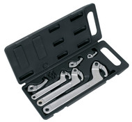 Sealey HWS03 Adjustable Hook & Pin Wrench Set 11pc