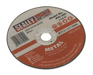 Sealey PTC/3CT Cutting Disc ¯75 x 1.2mm 10mm Bore