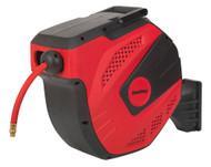 Sealey SA824 Air Hose Reel Auto Rewind Control 30mtr ¯10mm ID - Rubber Hose