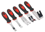 Sealey RT006 Door Panel & Trim Clip Removal Tool Set 5pc