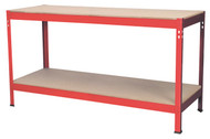 Sealey AP1535 Workbench 1.53mtr Steel Wooden Top