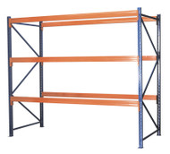 Sealey AP3000 Heavy-Duty Racking Unit with 3 Beam Sets 1000kg Capacity Per Level