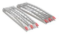 Sealey LR680 Aluminium Loading Ramps 680kg Capacity per Pair