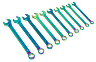 Sealey AK6308 Combination Spanner Set 10pc Metric Titanium Coated
