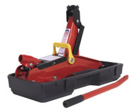 Sealey 1050CXD Trolley Jack 2tonne Short Chassis with Storage Case
