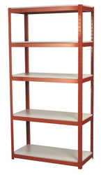 Sealey AP6500 Racking Unit with 5 Shelves 500kg Capacity Per Level