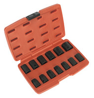 "Sealey AK5613M Impact Socket Set 13pc 1/2""Sq Drive Metric"