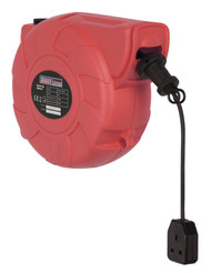 Sealey CRM151 Cable Reel System Retractable 15mtr 1 x 230V Socket