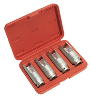 Sealey VS2060 Injector Cap Removal Socket Set 4pc