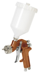 Sealey S775G Spray Gun Gravity Feed Siegen Brand 1.3mm Set-Up