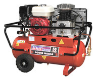 Sealey SA5055 Compressor 50ltr Belt Drive Petrol Engine 5.5hp