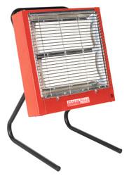 Sealey CH2800 Ceramic Heater 1.4/2.8kW 230V