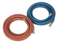 Sealey WH05 Welding Hose Set Oxyacetylene EN ISO 3821 5mtr