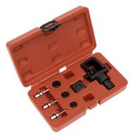 Sealey MS025 Heavy-Duty Motorcycle Chain Splitter & Riveting Tool Set