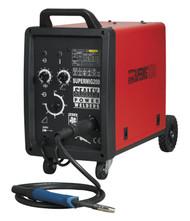 Sealey SUPERMIG200 Professional MIG Welder 200Amp 230V with Binzel¨ Euro Torch