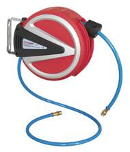 Sealey SA811 Retractable Air Hose Reel 6.5mtr 6.5mm ID - PU Hose