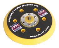 "Sealey PTC150DFV DA Dust-Free Backing Pad for Hook & Loop Discs ¯145mm 5/16""UNF"