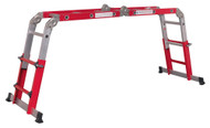 Sealey AFPL2 Aluminium Multipurpose Ladder EN 131 Adjustable Height