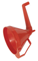 Sealey F16 Funnel with Fixed Offset Spout & Filter Medium ¯160mm