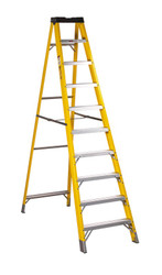 Sealey FSL10 Fibreglass Step Ladder 9-Tread EN 131
