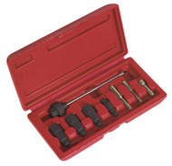Sealey VS312 Glow Plug Reamer/Base Cleaning Set 8pc