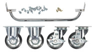 Sealey API565KIT Industrial Handle & Wheel Kit for 565mm Cabinets