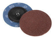 Sealey PTCQC5080 Quick Change Sanding Disc ¯50mm 80Grit Pack of 10