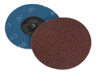 Sealey PTCQC7560 Quick Change Sanding Disc ¯75mm 60Grit Pack of 10