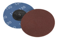 Sealey PTCQC75120 Quick Change Sanding Disc ¯75mm 120Grit Pack of 10