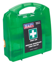 Sealey SFA01M First Aid Kit Medium - BS 8599-1 Compliant
