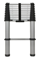Sealey ATL11 Aluminium Telescopic Ladder 11-Tread EN 131