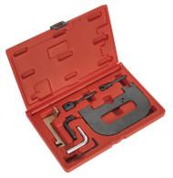 Sealey VSE5071A Petrol Engine Setting/Locking Kit - Renault 1.4, 1.6, 1.8, 2.0 16v K4J, K4M, F4P, F4R(t) - Belt Drive