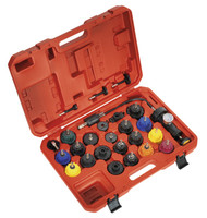 Sealey VS0011 Cooling System Pressure Test Kit 25pc