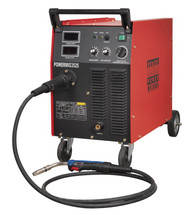 Sealey POWERMIG3525 Professional MIG Welder 250Amp 415V with Binzel¨ Euro Torch