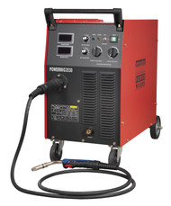Sealey POWERMIG3530 Professional MIG Welder 300Amp 415V with Binzel¨ Euro Torch