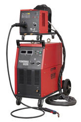 Sealey POWERMIG6025S Professional MIG Welder 250Amp 415V with Binzel¨ Euro Torch & Portable Wire Drive