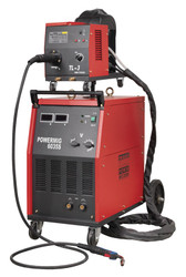 Sealey POWERMIG6035S Professional MIG Welder 350Amp 415V with Binzel¨ Euro Torch & Portable Wire Drive