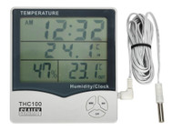 Sealey THC100 Thermometer (In/Out)/Hygrometer/Clock