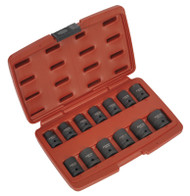 "Sealey AK5613TD Impact Socket Set 13pc 1/2""Sq Drive Total Drive¨"