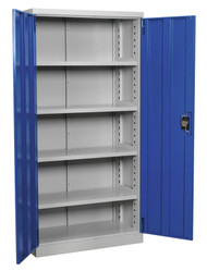 Sealey APICCOMBOF4 Industrial Cabinet 4 Shelf 1800mm