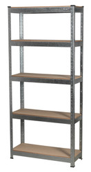 Sealey AP6150GS Racking Unit 5 Shelf 150kg Capacity Per Level