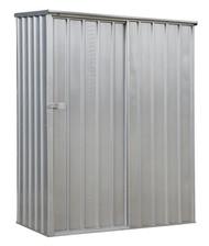 Sealey GSS150819SL Galvanized Steel Shed 1.5 x 0.8 x 1.9mtr Sliding Door